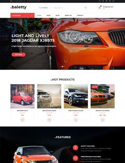 best woocommerce themes online car vehicle automotive stores feature