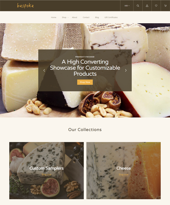 BigCommerce Themes For Selling Groceries And Gourmet Food