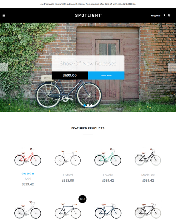 best bigcommerce themes sports fitness feature