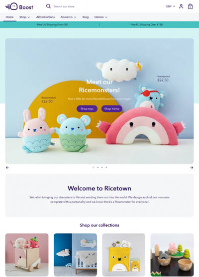 best shopify themes for toy stores feature