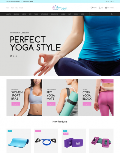 best gym fitness prestashop themes feature