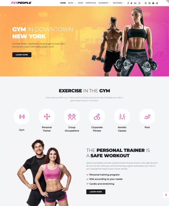 WordPress Themes For Crossfit Gyms