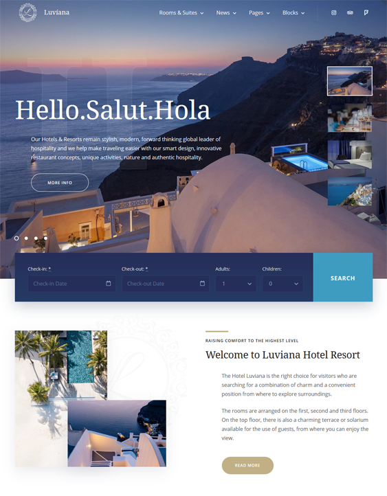 best wordpress themes hotels motels inns resorts feature