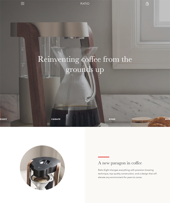 Shopify Themes For Coffee Shops And Stores