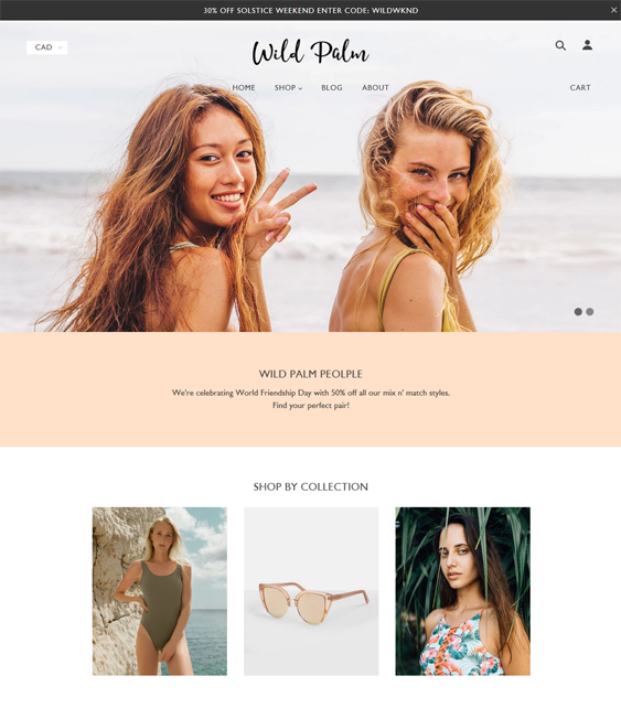 Summer Shopify Themes