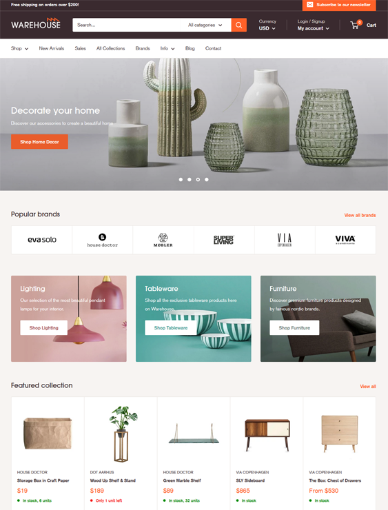 8 Of The Best Interior Design Home Decor Shopify Themes Buildify