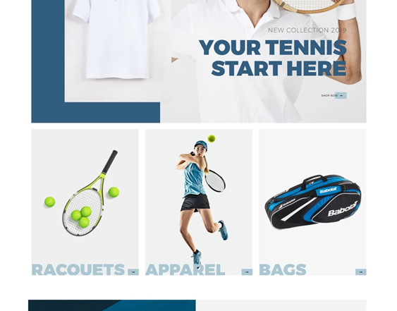 best shopify themes for online sports stores feature