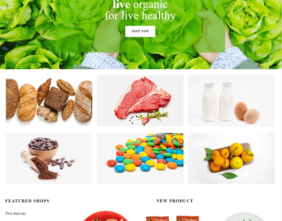 best shopify themes for selling gourmet food and groceries feature