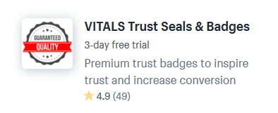trust badge shopify themes