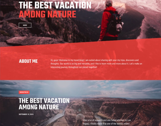 best travel tourism wordpress themes feature