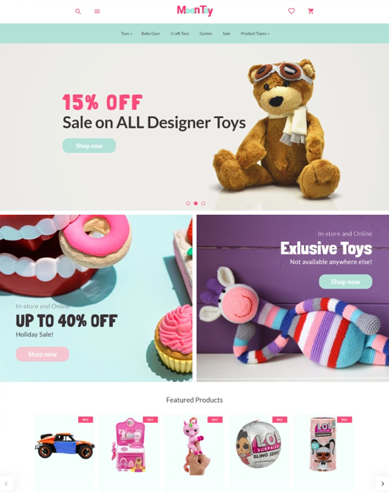 best magento themes for kids children babies feature