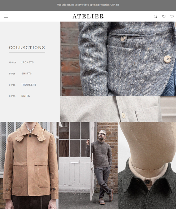 best fashion bigcommerce themes for mens clothing accessories feature