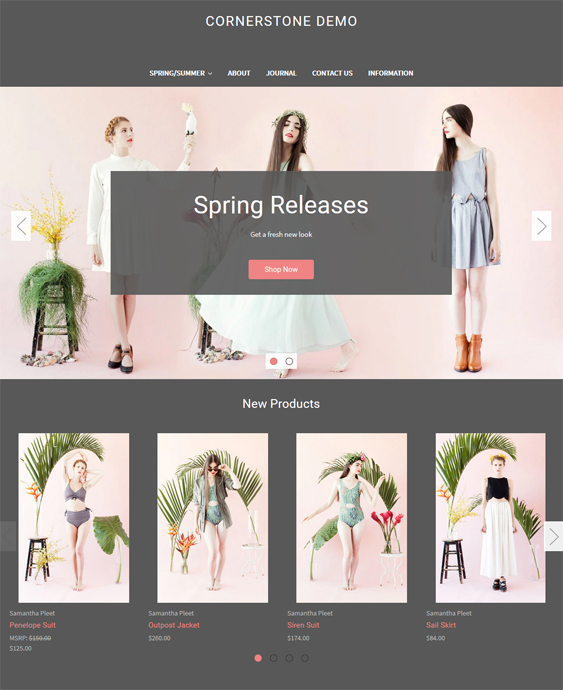 best fashion bigcommerce themes for womens clothing feature