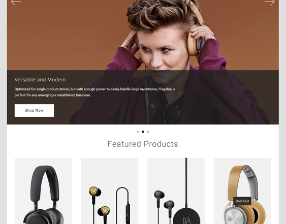 best bigcommerce themes for selling electronics feature