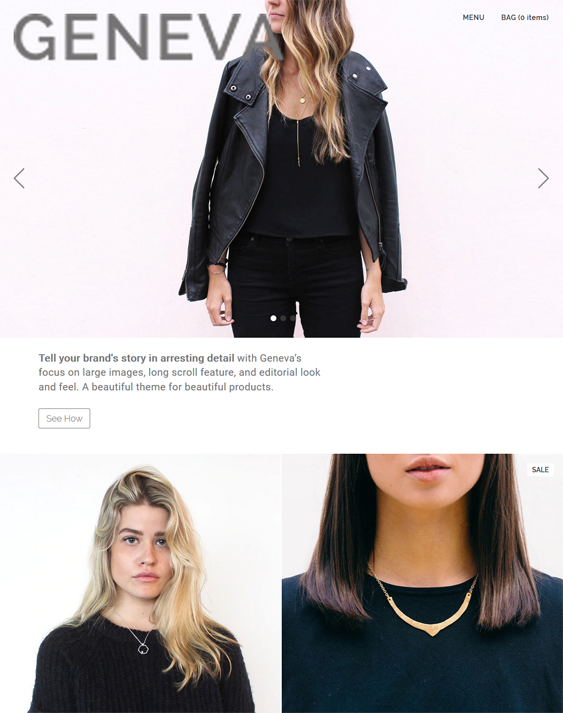 Fashion BigCommerce Themes For Online Clothing Stores