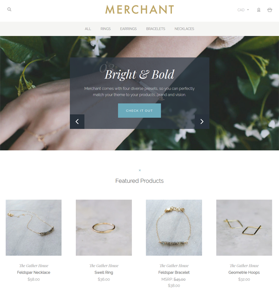 best bigcommerce themes for watch and jewelry stores feature