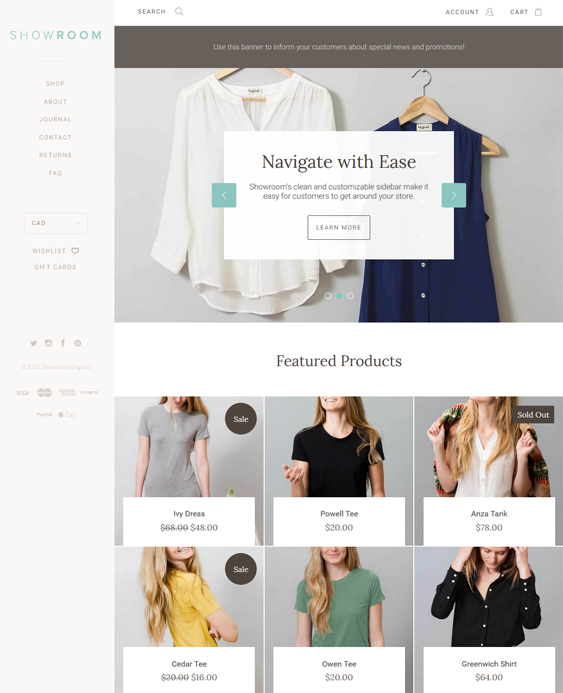 Fashion BigCommerce Themes For Online Clothing Stores feature