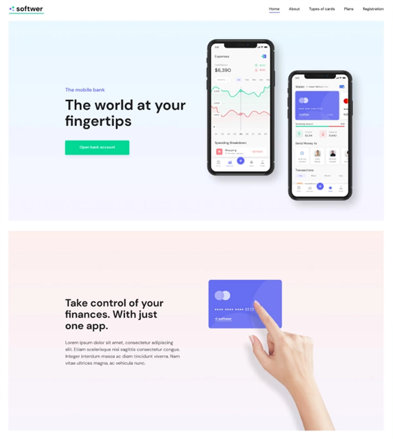 wordpress themes for promoting iphone and android apps