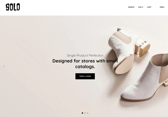 best bigcommerce themes selling shoes footwear feature