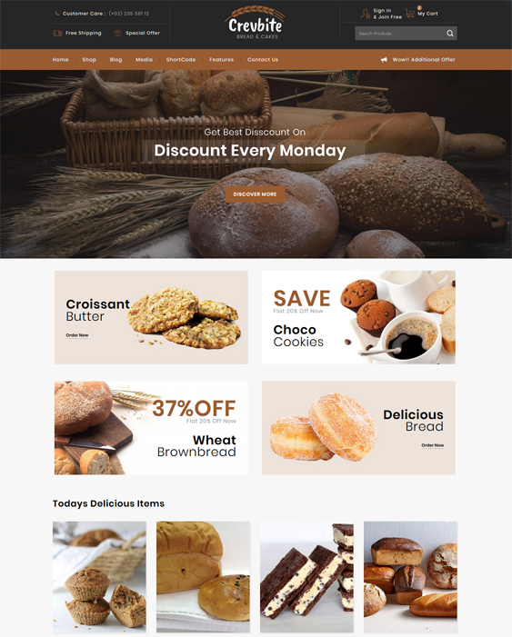 restaurant food delivery woocommerce themes