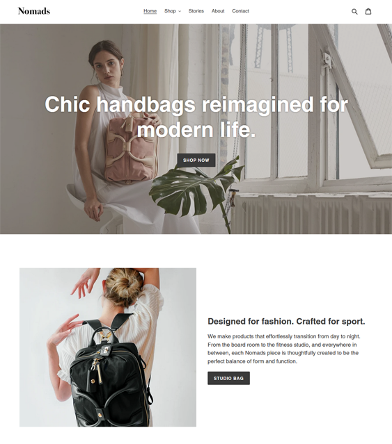 Free Shopify Themes For Selling Clothing And Accessories