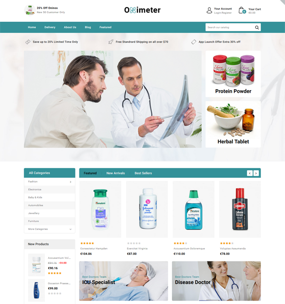 medical prestashop theme