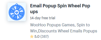 Shopify Apps For Spinning Wheel Games