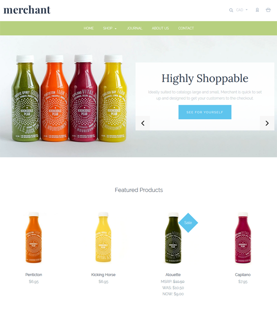 bigcommerce themes for online grocery stores