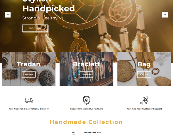 Shopify Themes for Selling Handcrafted Arts, Crafts, And Goods feature