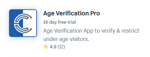 Age Verification Shopify Apps