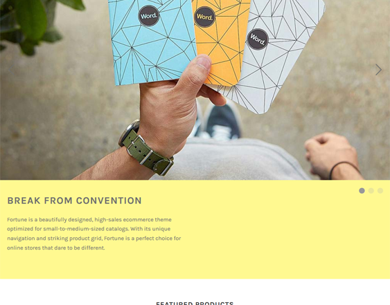 Free BigCommerce Themes feature