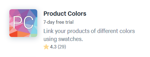 Shopify Apps For Color Swatches