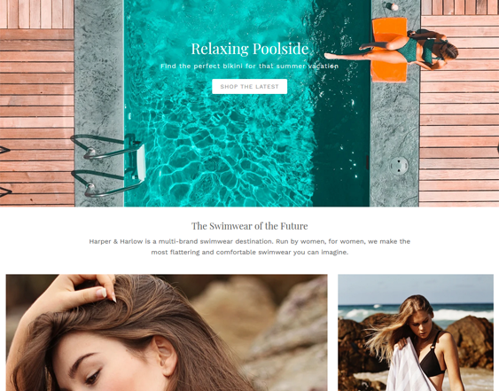 summer shopify themes feature