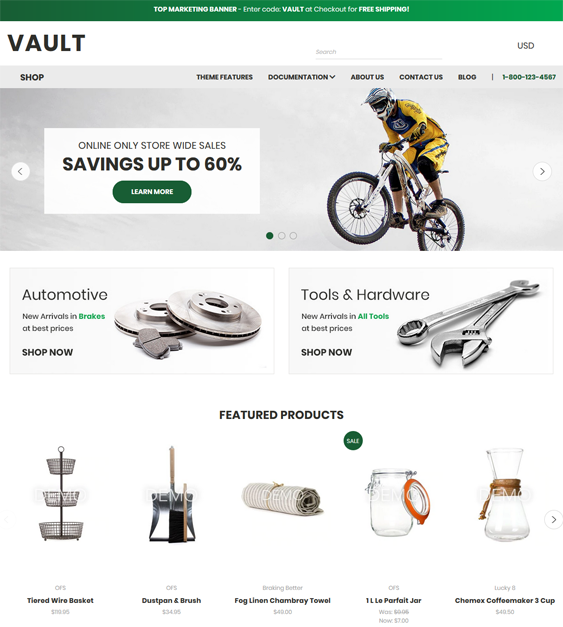 BigCommerce Themes For Sports And Fitness Stores