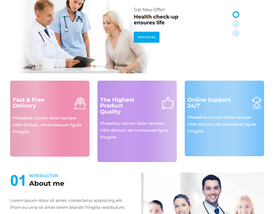 Shopify Themes For Drug Stores And Online Pharmacies feature