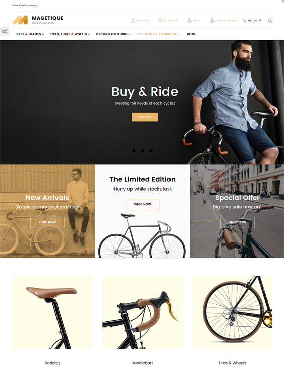 Magento Themes For Sports And Fitness Stores