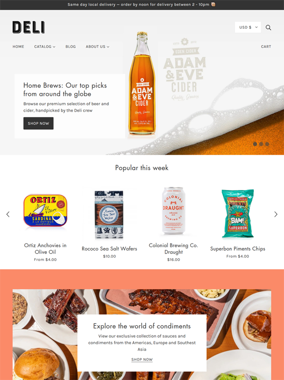 Shopify Themes For Selling Beer, Wine, Liquor, And Other Alcoholic Beverages