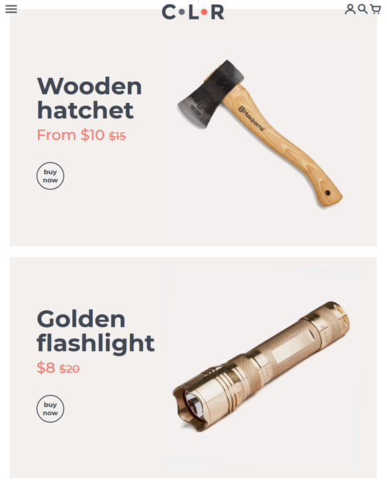 Shopify Themes For Outdoor Goods And Hiking And Camping Equipment