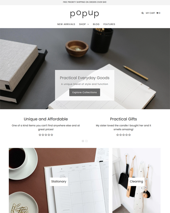 Shopify Themes For Office Supply Stores
