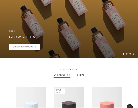 Shopify Themes For Selling Beauty Products, Skincare, Makeup, And Toiletries feature