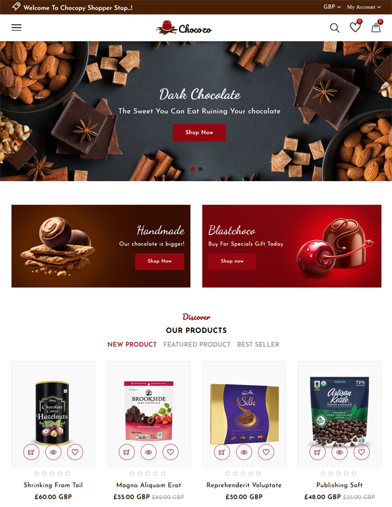 Shopify Themes For Selling Food