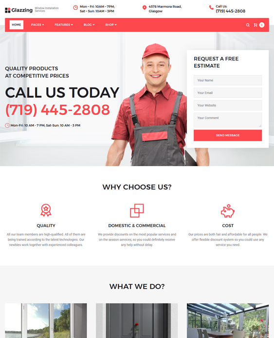 WordPress Themes For Building Contractors And Construction Companies