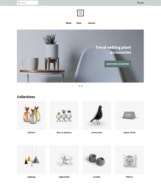 Free Shopify Themes feature
