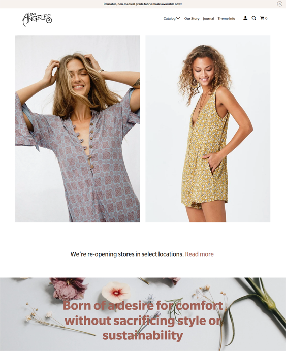 Shopify Themes For Women's Clothing And Fashion Stores feature