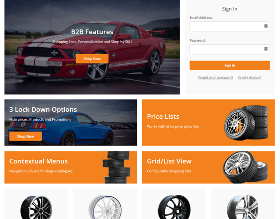 BigCommerce Themes For Car, Vehicle, And Automotive Stores feature