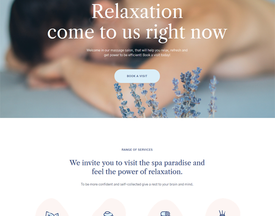 WordPress Themes for Massage Salons and Therapists feature