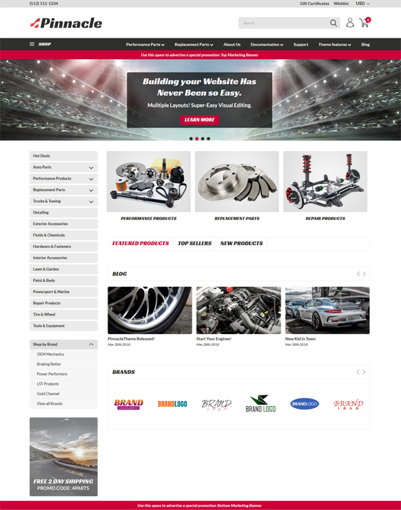 BigCommerce Themes For Car, Vehicle, And Automotive Stores