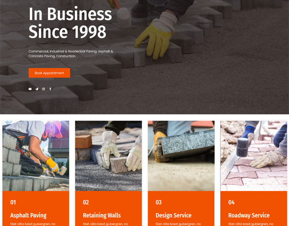 WordPress Themes For Building Contractors And Constructions Companies feature