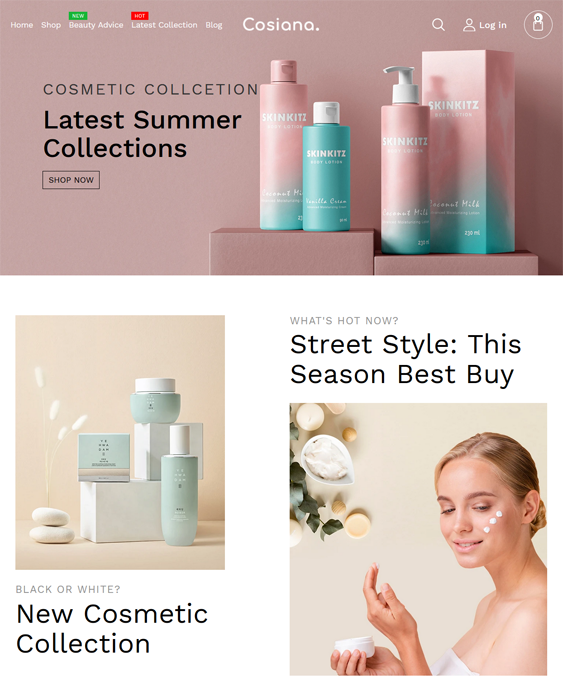 Shopify Themes For Cosmetics, Skincare, Beauty Products, And Makeup feature