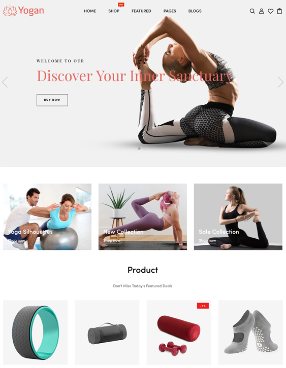 Shopify Themes For Selling Sportswear And Activewear